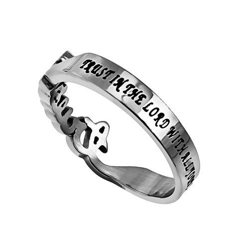 Trust Proverbs Ring