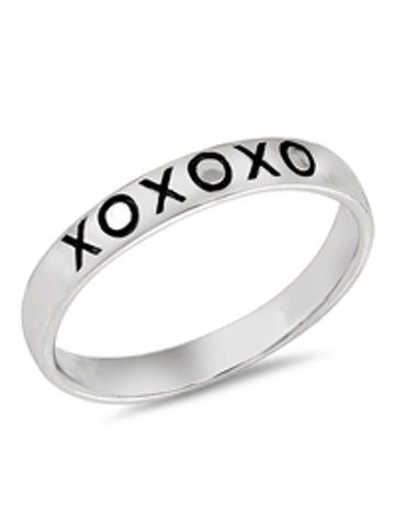XOXO Ring For Women Sterling Silver
