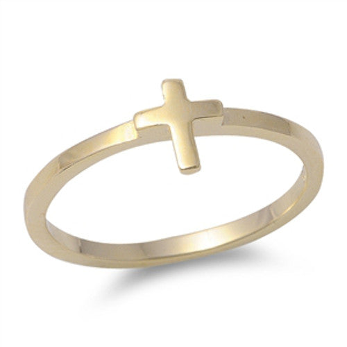 Sterling Silver Gold Plated Ring