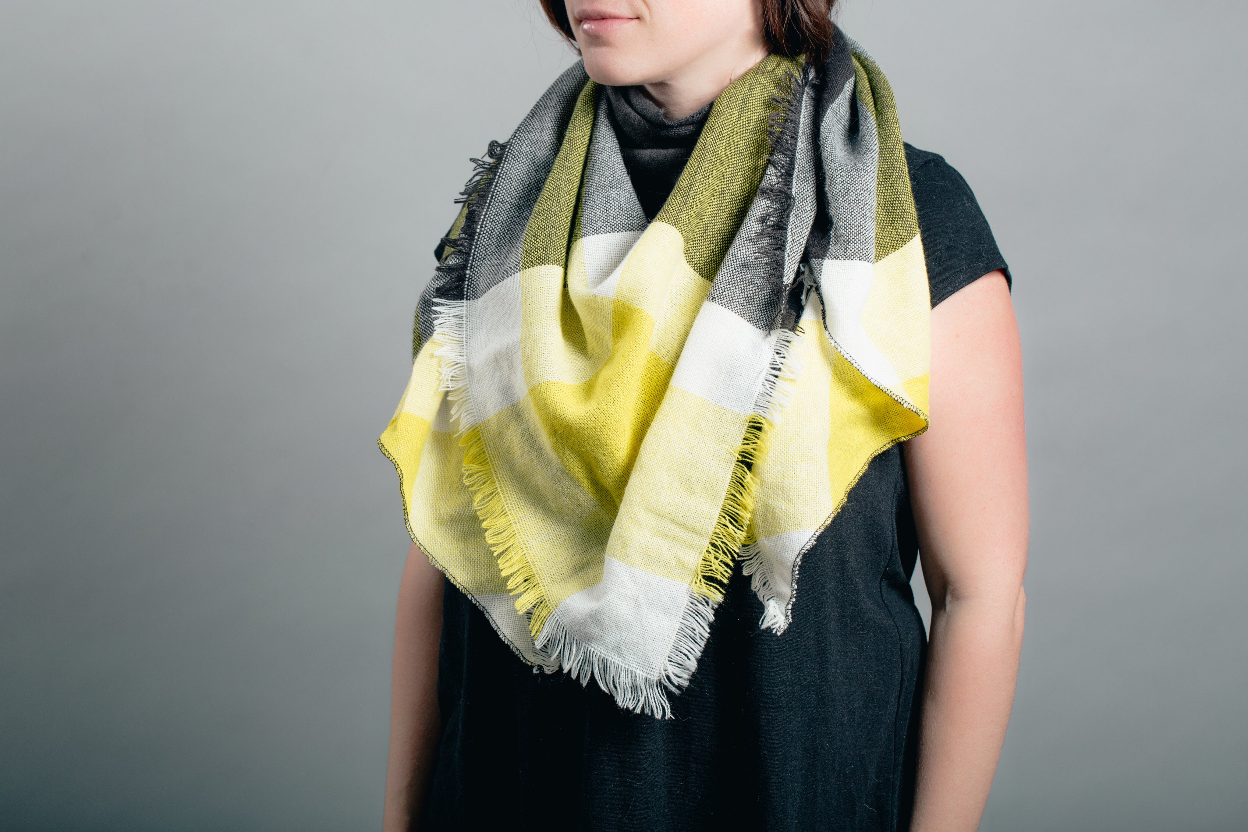 Blanket Scarf by KnitPopShop