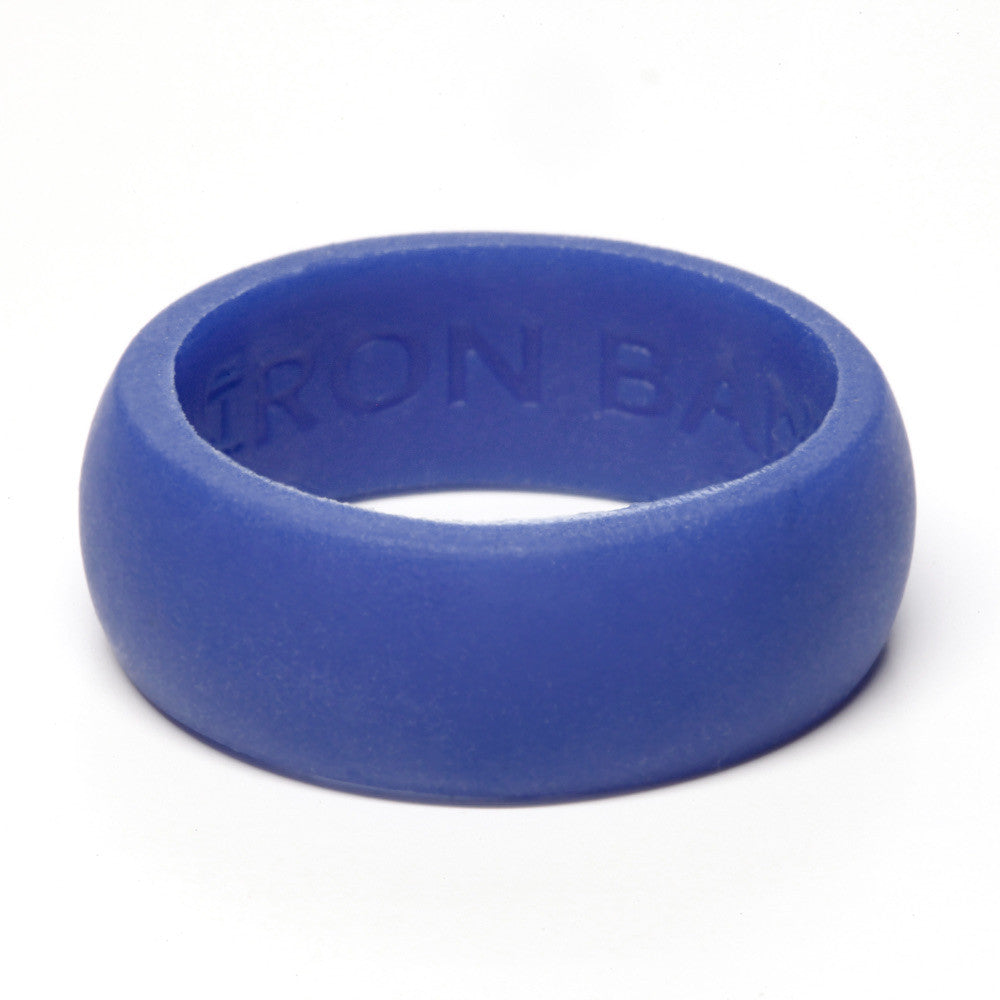 Silicone Rubber Wedding Rings by Iron Band – Wedding Bands All Sizes for Active Men and Women