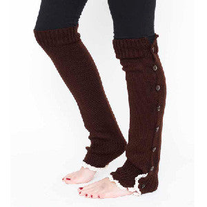 Brown Leg Warmers