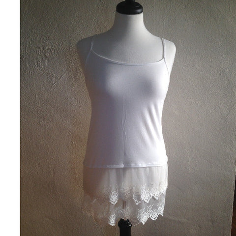 Lace Slip Extender Top