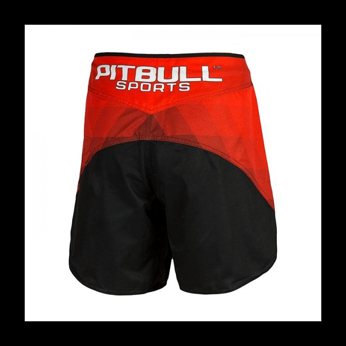 Pit Bull West Coast Grappling Shorts Jet Polska/Poland Red