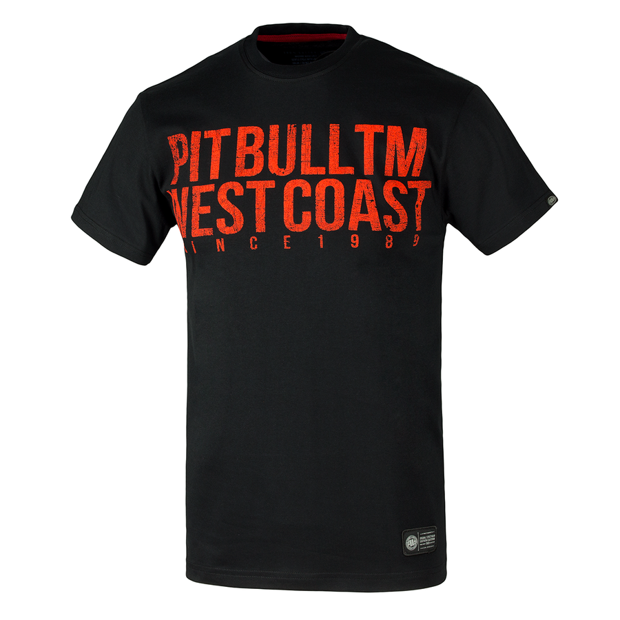 pit bull west coast t-shirt business as usual 2017 black