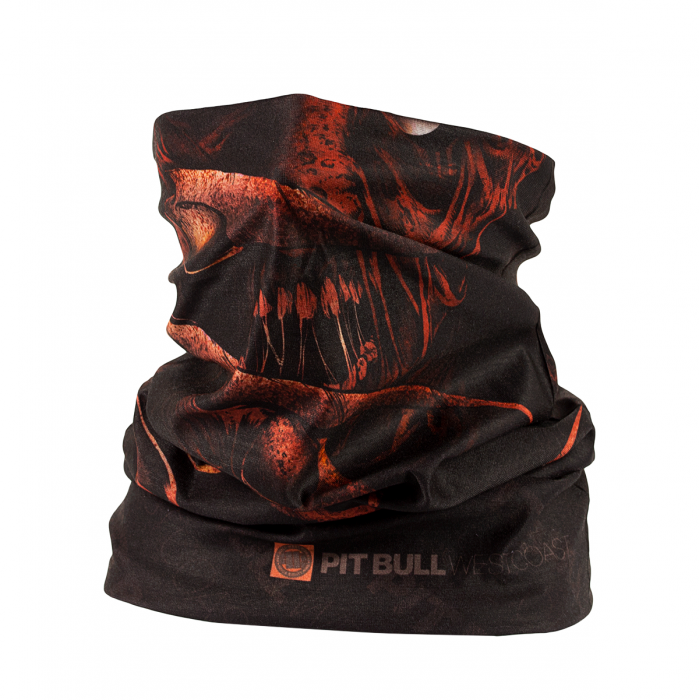PIT BULL WEST COAST FACE MASK RED CLAW