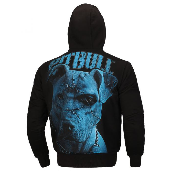 Blue Eyed Devil IX Hooded Zipped