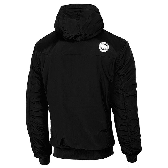 Hooded Urban Jacket CABRILLO II PIT BULL WEST COAST black