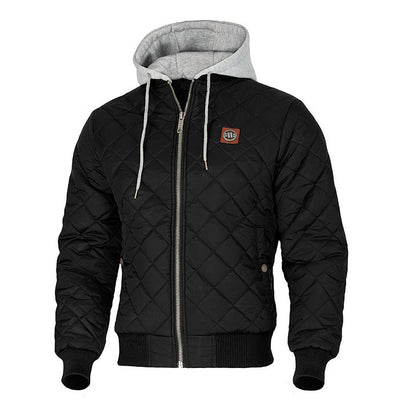 Hooded Urban Winter Jacket ATWATER Black PIT BULL WEST COAST