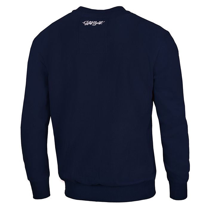 Pit Bull West Coast Crewneck Sweatshirt West Coast 17 D.Navy