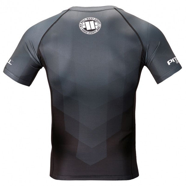 Black Belt Short Sleeve Rashguard
