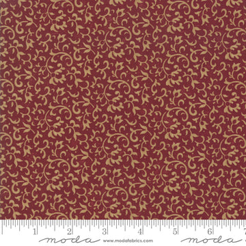 Through the Years Red 1/2 yard 9621 13