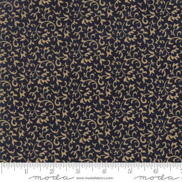 Through the Years Navy 1/2 yard 9621 14