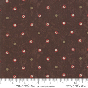 Lake Views Brown 1/2 yard 6806 20