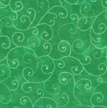 Marble Swirls Grass Green 1/2 yard