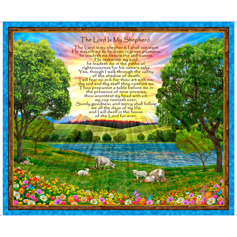 The Lord is my Shepherd Panel Digital
