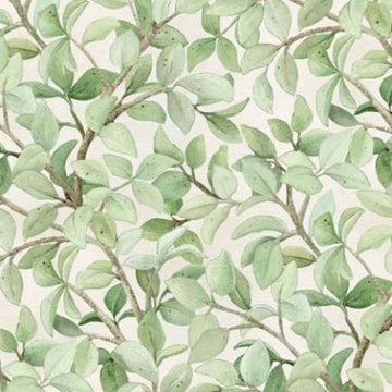 Cream Branches 4311 1/2 yard
