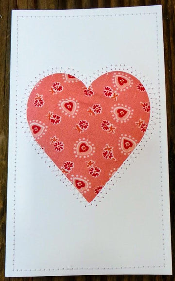 Heart Quilted Card