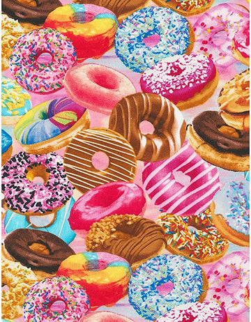 Donut Fabric 1/2 yard
