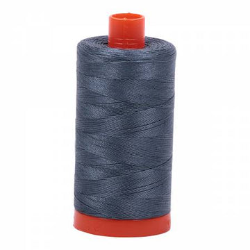 Mako Cotton Thread Solid 50wt 1422yds Medium Grey