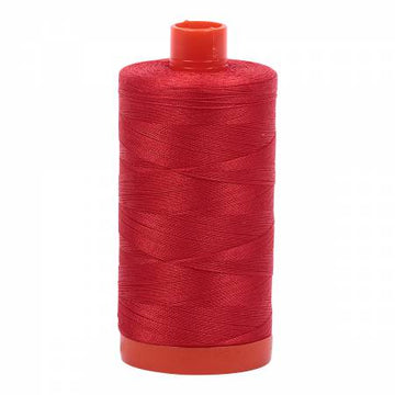 Mako Cotton Thread Solid 50wt 1422yds Paprika