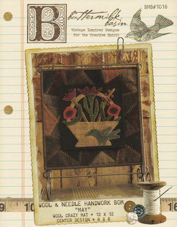 Wool & Needle Block of the Month May Kit