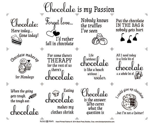 Chocolate is my Passion