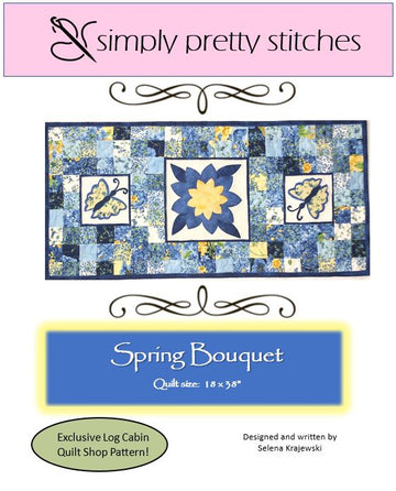 Spring Bouquet Runner Pattern