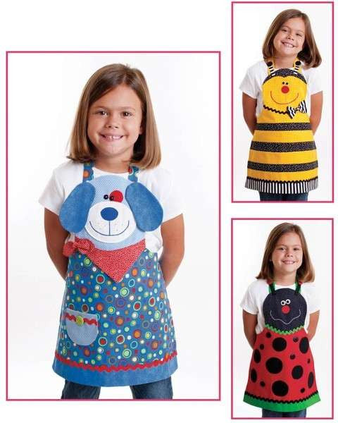 Cute Friends Apron Pattern