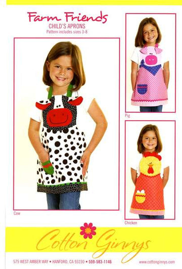 Farm Friends Apron Pattern