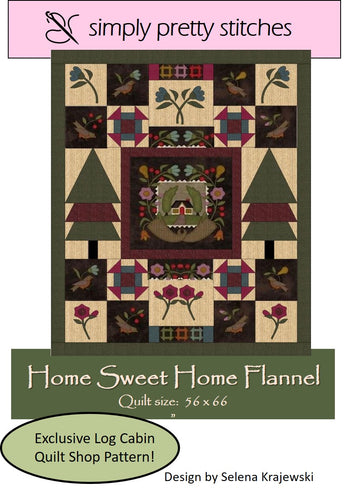 Home Sweet Home Flannel Kit