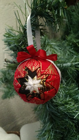 Mini Pointed Ball Ornament