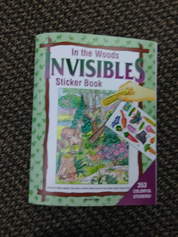 in the woods sticker book