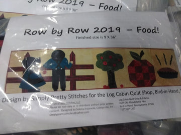 Row by Row 2019 kit