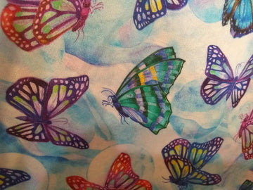 Butterflies  1\2 Yard