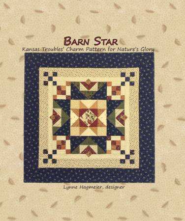 Barn Star KT Charm Pattern