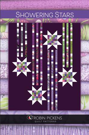 Showering Stars Jelly Roll Pattern