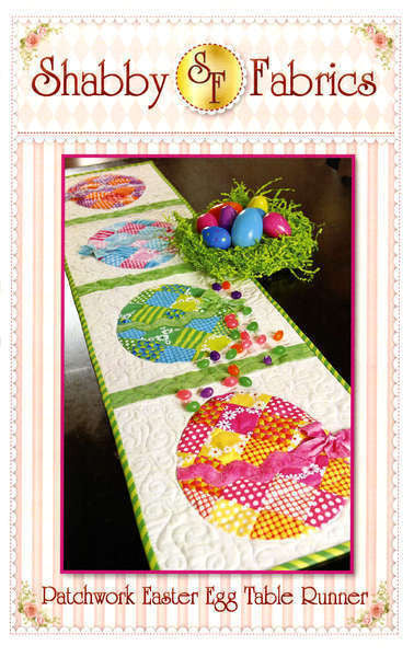Patchwork Easter Egg Pattern