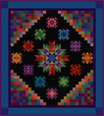 Amish With a Twist IV Quilt Pattern