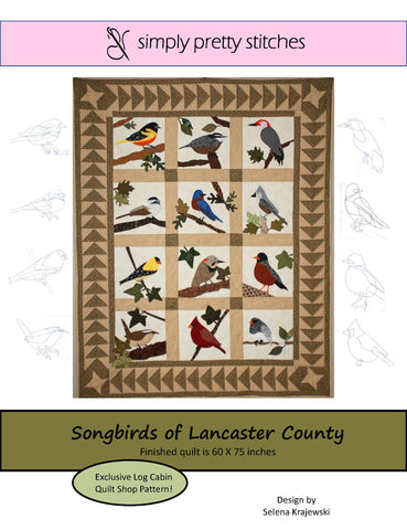 Songbirds of Lancaster County Pattern