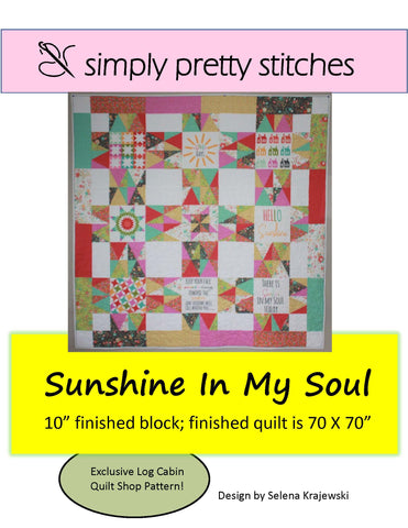 Sunshine in my Soul Pattern