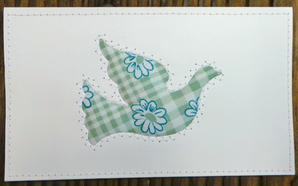 Bird Quilted Card