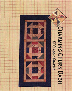Charming Churndash Table Runner Pattern