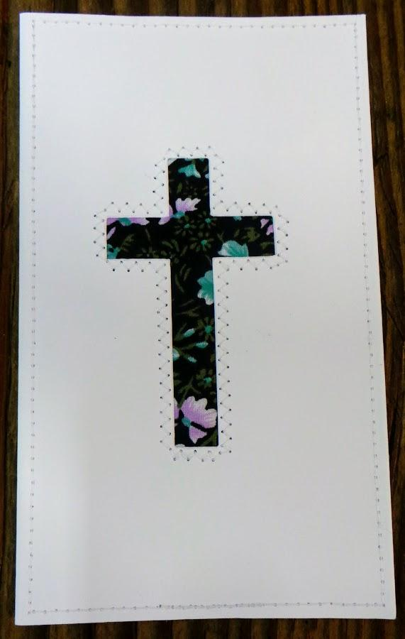 Cross Quilted Card