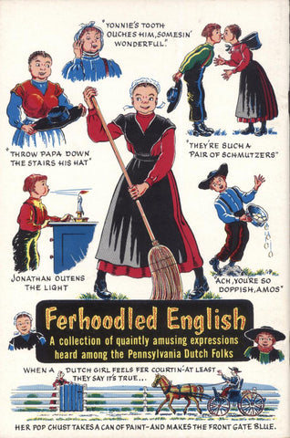 Ferhoodled English