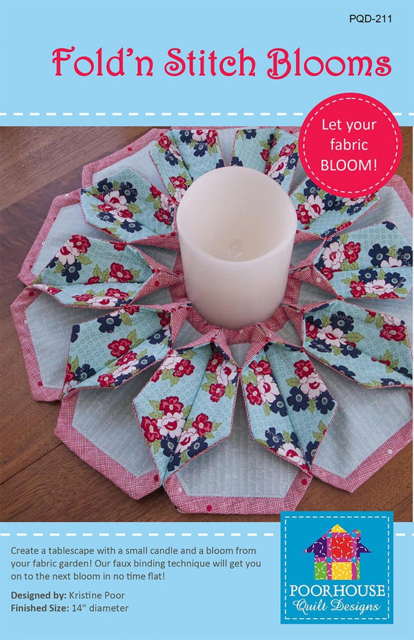 Fold'n Stitch Blooms Pattern