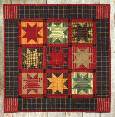 Homespun Stars Wallhanging Kit