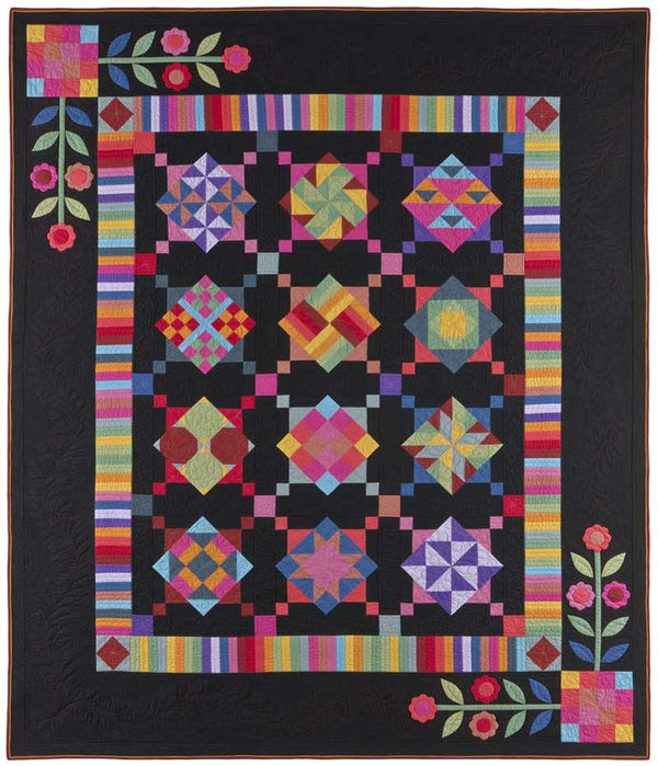 Amish with a Twist Quilt Pattern BOM