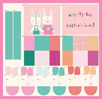 Bunny Basket Panel