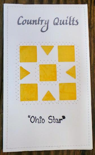 Ohio Star Quilted Card